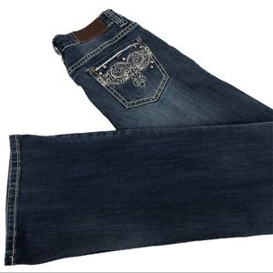 Adiktd Jeans Embroidered and Embellished Size 0/26